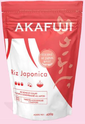 akafuji riz rond japonica 400g